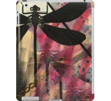 Black Dragonfly iPad Case/Skin