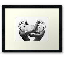 Musical Anatomy: Astor & Pollux Framed Print