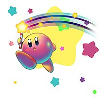 Kirby Super Star Rod Photographic Print