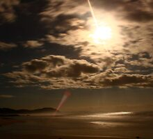 Beach by Moonlight by thomasmiller
