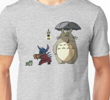 Totoro and Stitch mash-up! Unisex T-Shirt