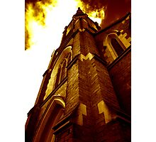 Stawell Uniting Church - The Golden Photographic Print
