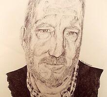 Pete Townshend by filtercoffeekid