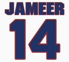 Basketball player Jameer Nelson jersey 14 by imsport