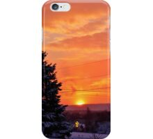 Sunset After the Snowstorm iPhone Case/Skin