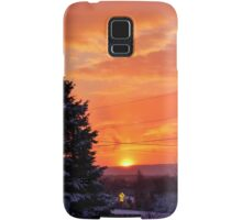 Sunset After the Snowstorm Samsung Galaxy Case/Skin