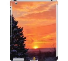 Sunset After the Snowstorm iPad Case/Skin