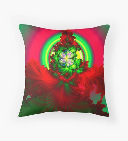 Nature's Glow Throw Pillow