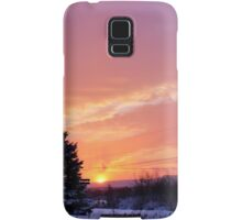 Sunset After the Snowstorm II Samsung Galaxy Case/Skin