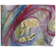 Emily's Signature Poster