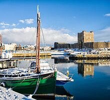 Carrickfergus Harbour by Nigel R Bell