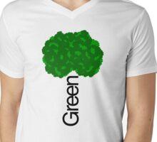 GREEN iii Mens V-Neck T-Shirt
