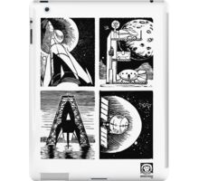 Read! Science Fiction Alphabet Letter design iPad Case/Skin