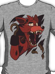 Five Nights At Freddy's - Foxy Shirt Rip T-Shirt