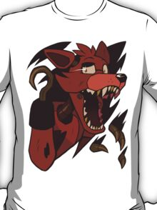 Five Nights At Freddy's - Foxy Shirt Rip T-Shirt