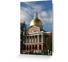 New State House Greeting Card