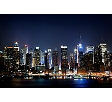 New York City Blues Photographic Print