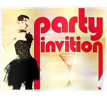 Party Invitation Poster