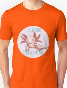 Positive Axolotl Affirmations Unisex T-Shirt