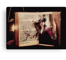 Story Book Canvas Print