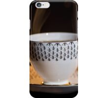 The Cup & Saucer iPhone Case/Skin