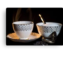 The Cup & Saucer Canvas Print