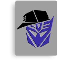 Decepticon G1 OG Transformer Canvas Print