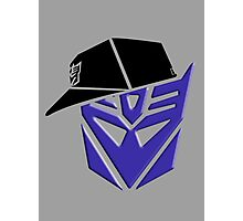 Decepticon G1 OG Transformer Photographic Print
