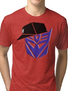 Decepticon G1 OG Transformer Tri-blend T-Shirt