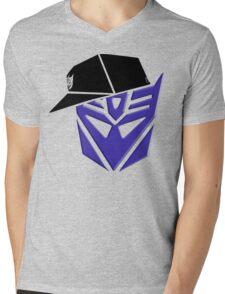 Decepticon G1 OG Transformer Mens V-Neck T-Shirt