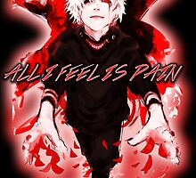 All I Feel Is Pain (Tokyo Ghoul) by Hunter Stanley