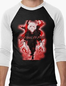 All I Feel Is Pain (Tokyo Ghoul) Men's Baseball ¾ T-Shirt