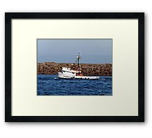 Headed to Sea Framed Print