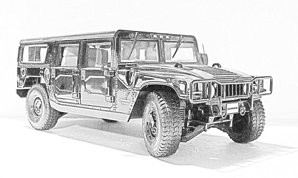 Hummer H1 by Rattlingmurdock