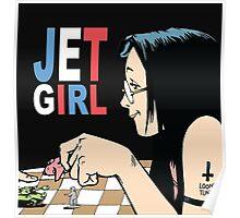 Jet Girl Poster