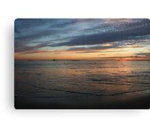 Curve of the Sea Canvas Print