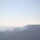 Haze On The Mighty Canyon by lemontree