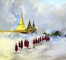Burma by molliekathleen