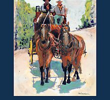 Stagecoach Days Poster by RDRiccoboni