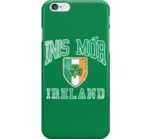 Inis Mor, Ireland with Shamrock iPhone Case/Skin