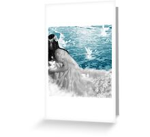"""""""Here Without You"""" Greeting Card"""