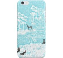Enchanted Winter Woods iPhone Case/Skin