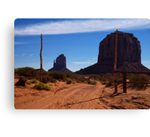 Follow the Road Where Your Heart Leads Canvas Print