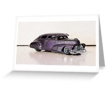 1947 Chevy Fleetline Greeting Card