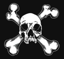 Skull and Crossbones - Jolly Roger 1 One Piece - Long Sleeve