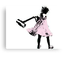 Hammer girl - Switched at Birth Canvas Print