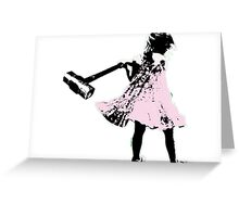 Hammer girl - Switched at Birth Greeting Card