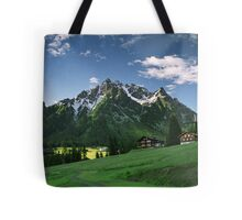 Morning snow at Ritzenspitzen, Austria Tote Bag