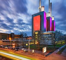Linden power station in Hannover by Michael Abid