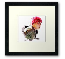Gerard Way Framed Print